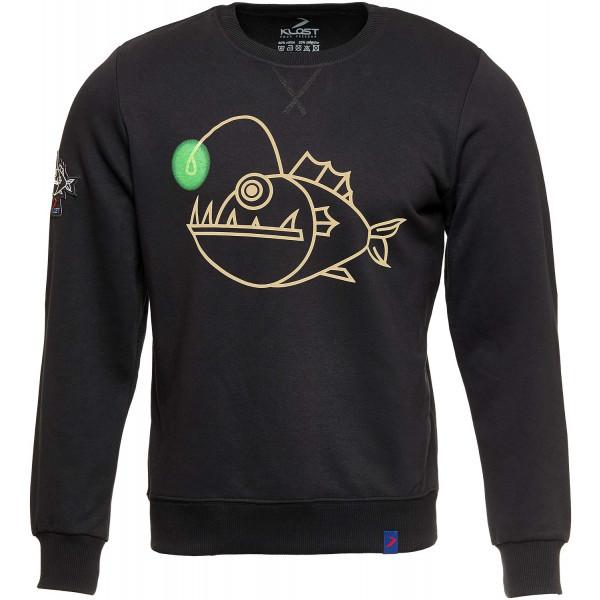 Klost свитшот Anglerfish черный