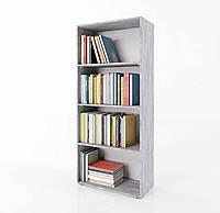 Стеллаж для дома, полка для книг из ДСП на 4 ячейки (4 ЦВЕТА) 600x1550x300 мм Возможны Ваши размеры, фото 1