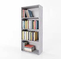 Стеллаж для дома, полка для книг из ДСП на 4 ячейки (4 ЦВЕТА) 600x1550x300 мм Возможны Ваши размеры