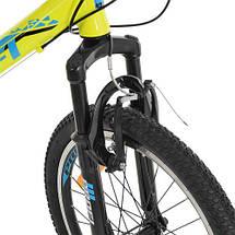 """Велосипед Profi 20"""" G20PLAIN A20.1 для детей и подростков спортивный салатовый, фото 3"""