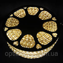Светодиодная LED лента SMD 5050, герметичная, теплый белый, 1м