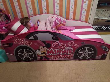 Кровать детская машина серии Elit с матрасом 70х150