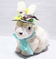 Декоративная пасхальная фигура Кролик в шляпке, 24см NY27-900