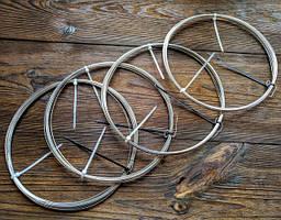 Нержавійка 0.6 мм, дріт для рукоділля колір срібло, для бісеру