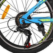 """Детский велосипед Profi 20"""" G20PLAIN A20.2 голубой двухколесный SHIMANO 18SP, фото 2"""