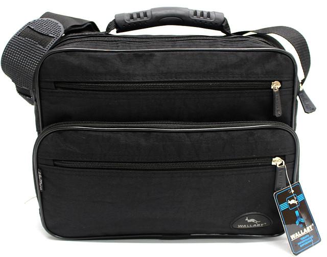 Мужская тканевая сумка через плечо Wallaby YR 2407