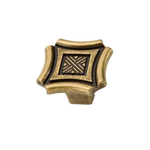 Ручка-кнопка стар.бронза GIUSTI
