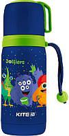 Термос детский Kite Jolliers 350 мл синий