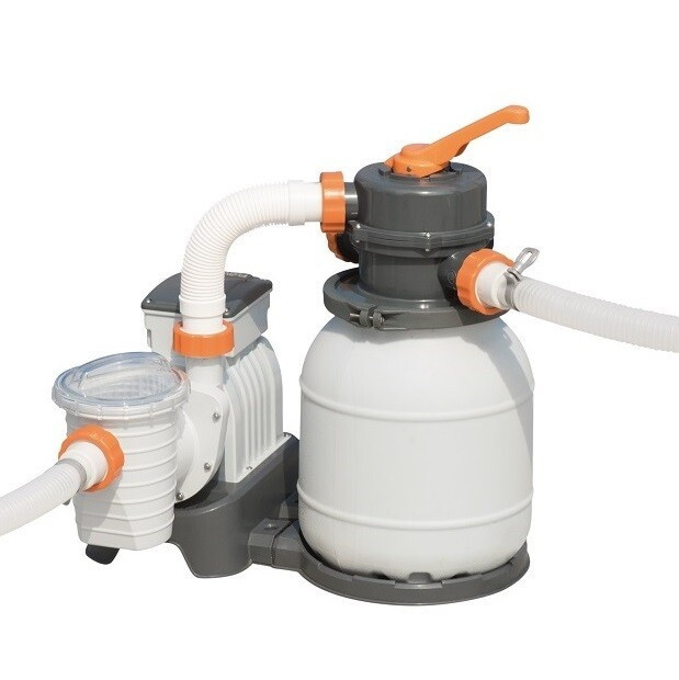 Фильтр песочный для бассейна Bestway Flowclear 58497, 5,6 м3/ч