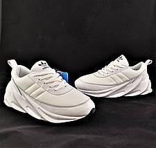 Кроссовки Adidas $harks Мужские Адидас Бело Акулы (размеры: 41,42,43,44,45) Видео Обзор, фото 2