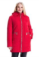 Демисезонная женская куртка большие размеры весна/осень Размеры: 54,56,58,60,62,64,66,68,70
