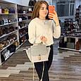 Вместительная сумка с ушками / застежка в стиле Хлое (0400) Черный, фото 9