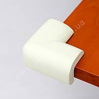 Мягкие накладки на углы мебели, для смягчения удара (белый)