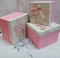 Коробка подарочная крупногабаритная (комплект3 шт )
