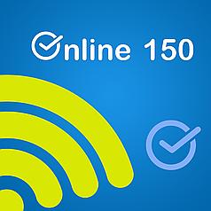 """Тарифный план """"Онлайн 150"""""""