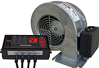 Комплект автоматики Polster C-11 + WPA Х2 K к дровяному котлу (Польша)