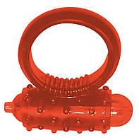 Насадка Vibro Ring Red Silikon, фото 1