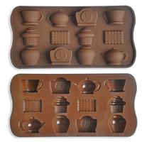 Форма силиконовая для конфет К чаю 12 шт