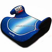 Бустер детский автомобильный Skyline, от 3,5 до 12 лет, 15-36 кг, Франция, синий (548090)