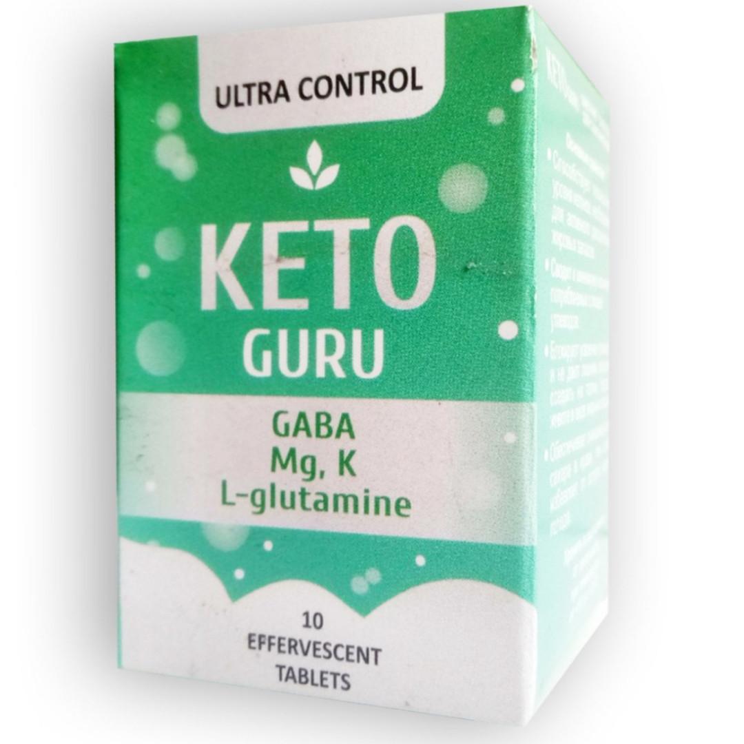 Keto Guru - Шипучие таблетки для похудения (Кето Гуру)