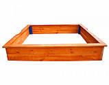 Детские песочницы деревянные 26 - 145х145см, фото 2