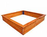 Детские песочницы деревянные 26 - 145х145см, фото 4
