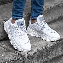 Мужские белые кроссовки STILLI обувь мужская демисезонная Размеры ( 41,42,43,44,), фото 3