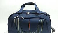 """Дорожная качественная каркасная сумка на колесах Mercury """" синий """", чемодан на колесах"""