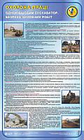 Одноківшовий екскаватор. Безпека земляних робіт. 0,6х1,0