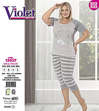 Піжама великих розмірів,Violet 13657