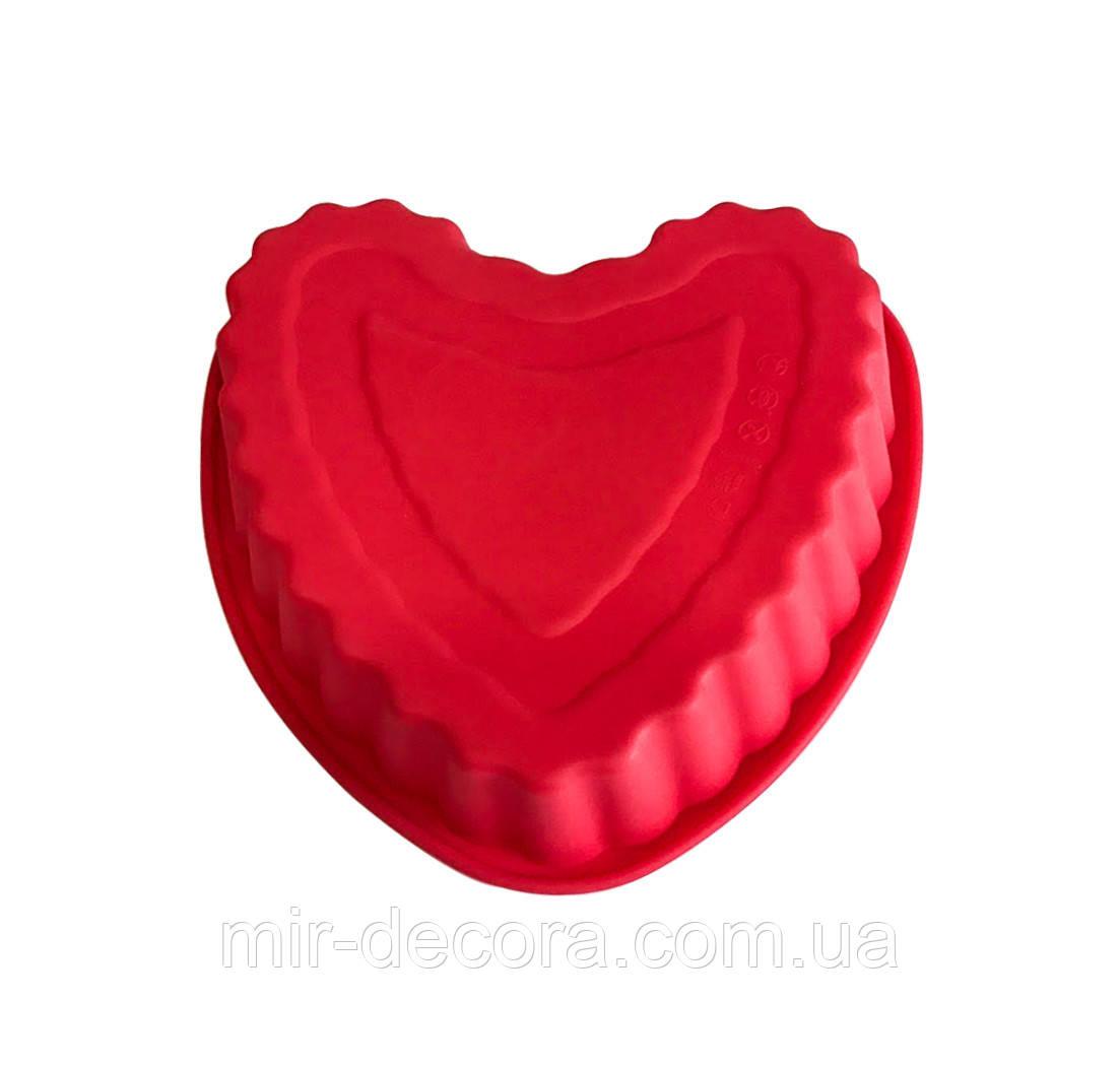 Форма силиконовая Сердечко 20 см