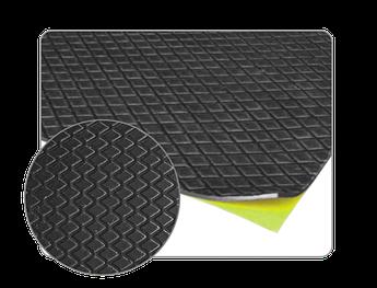 Самоклеящийся битумный звукоизолирующий материал мягкий APP MW 500 M, 500 х 500 мм