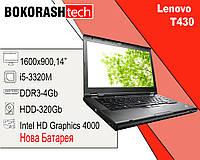 Ноутбук Lenovo T430 Нова Батарея (к.5064)