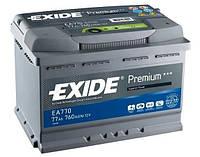 Акумулятор Exide Start-Stop EFB 70Ah 720A 12V R Євро (175x190x278)