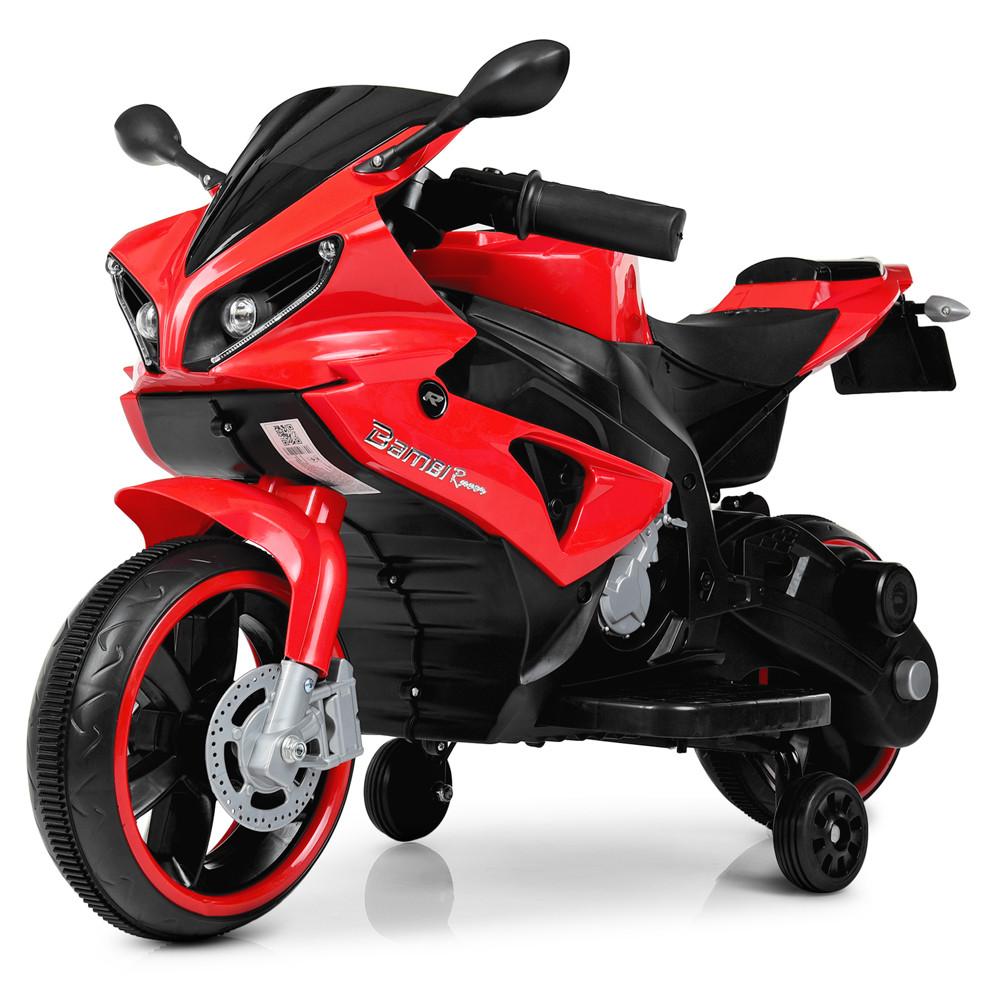 Детский мотоцикл Yamaha M 4183-3 красный