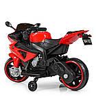 Детский мотоцикл Yamaha M 4183-3 красный, фото 5