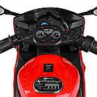 Детский мотоцикл Yamaha M 4183-3 красный, фото 6