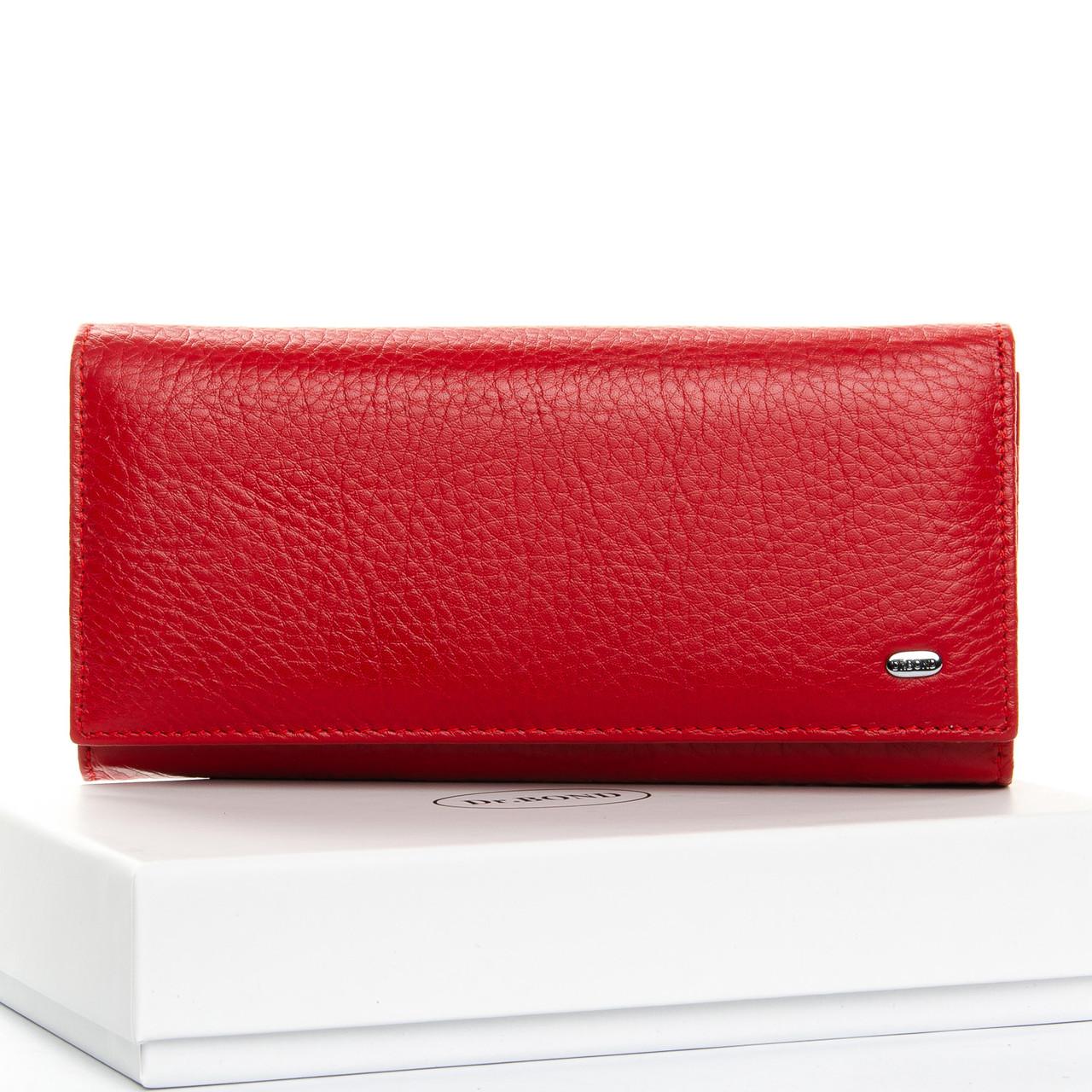 Кошелек Classic кожа DR. BOND W1-V red