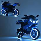 Детский мотоцикл Yamaha M 4183-4 синий, фото 2