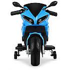 Детский мотоцикл Yamaha M 4183-4 синий, фото 4