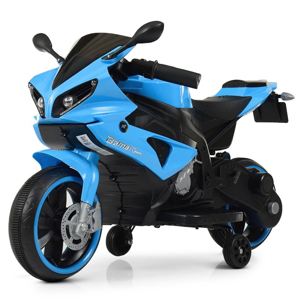 Детский мотоцикл Yamaha M 4183-4 синий