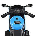 Детский мотоцикл Yamaha M 4183-4 синий, фото 3