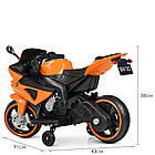Детский мотоцикл Yamaha M 4183-7 оранжевый, фото 4