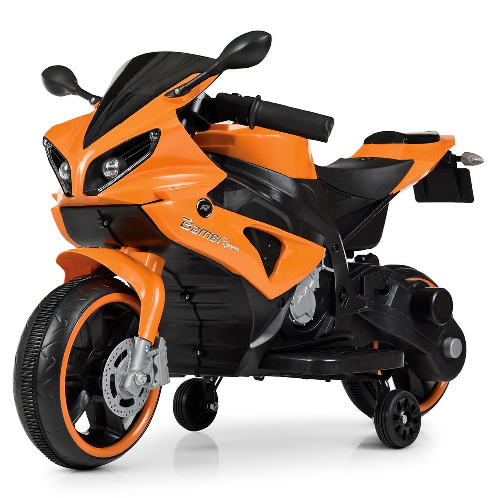 Детский мотоцикл Yamaha M 4183-7 оранжевый
