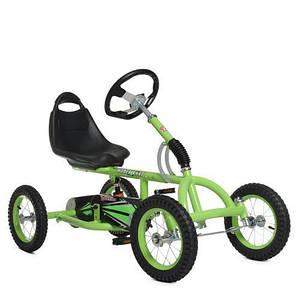 """Педальный карт Bambi M 1697-5-2 надувные колеса 12"""" зеленый"""