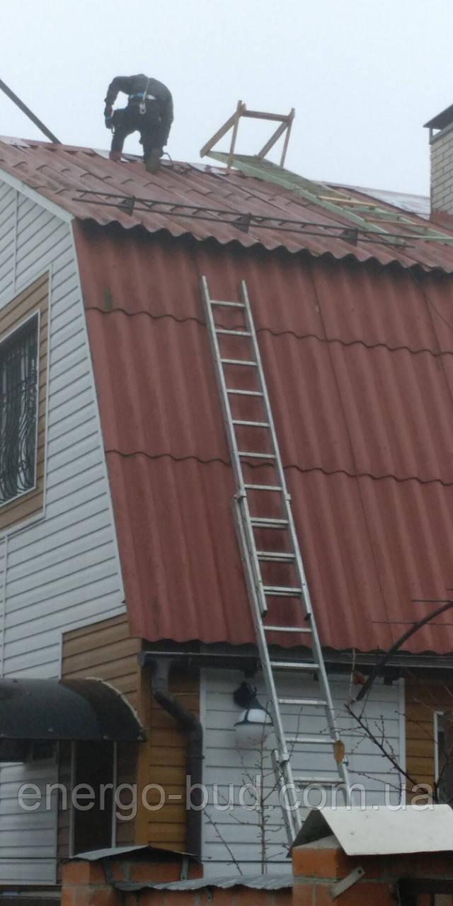 Трубчатые снегозадержатели на крышу.