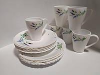 Набор посуды обеденный 18 предметов Прованс, фото 1