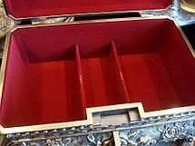 Винтажная шкатулка для украшений Rococo + бесплатная индивидуальная гравировка, фото 3