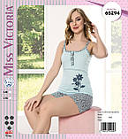 Пижама с шортами, Miss Victoria 65348, фото 2