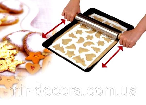 Форма лист для вырубки печенья